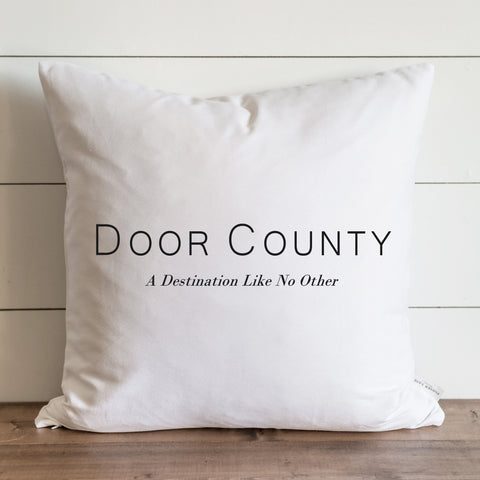Door County Pillow Covers