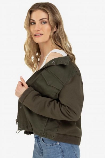 Women's Oversize Patch Pocket Coat