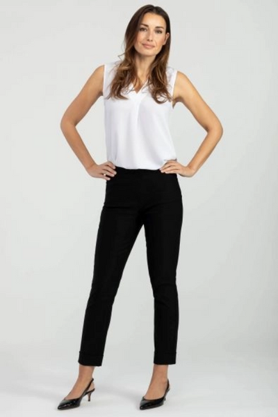 Women's Pull On Cuffed Ankle Pant