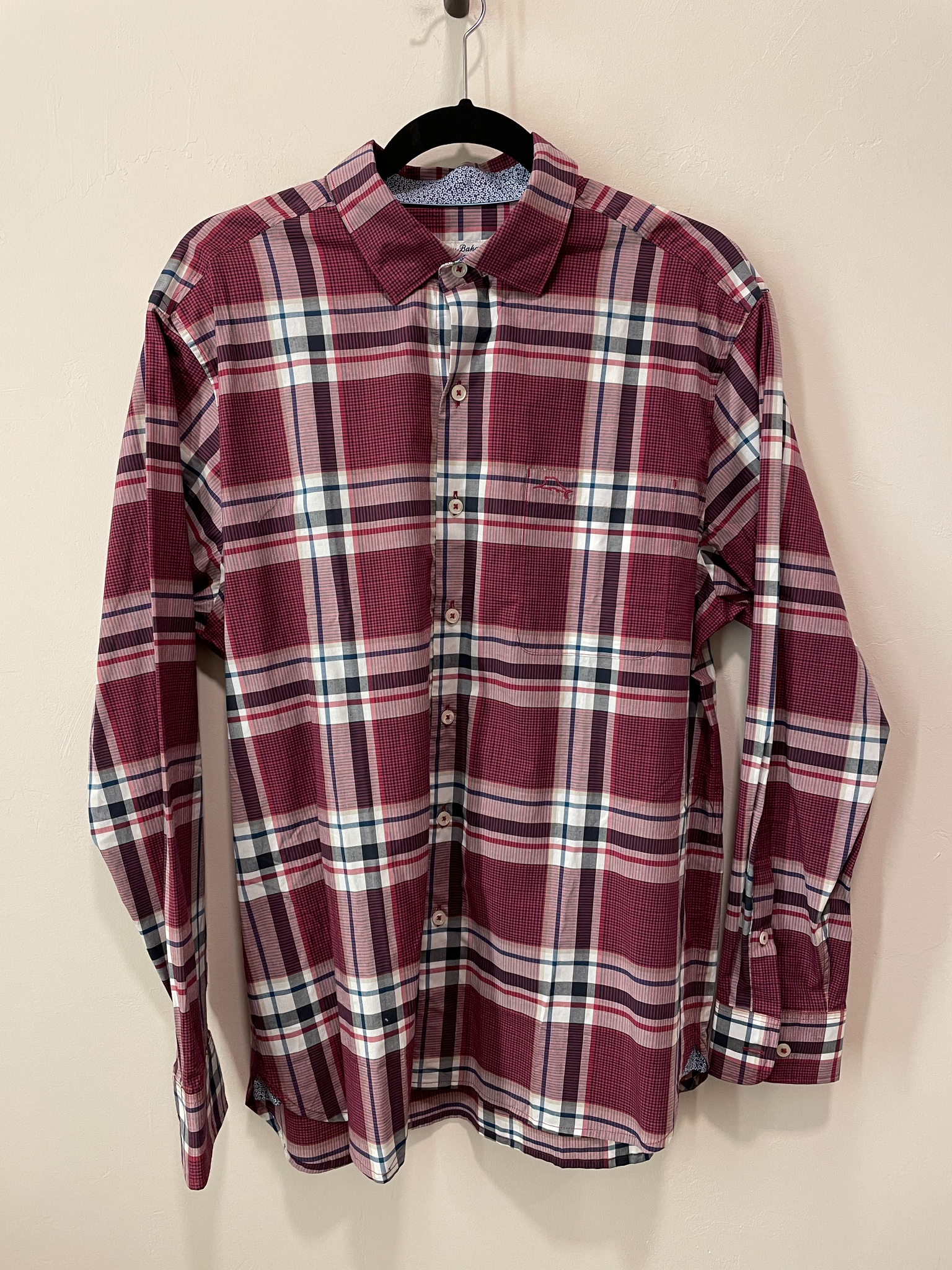 Plaid Palma Long Sleeve Shirt