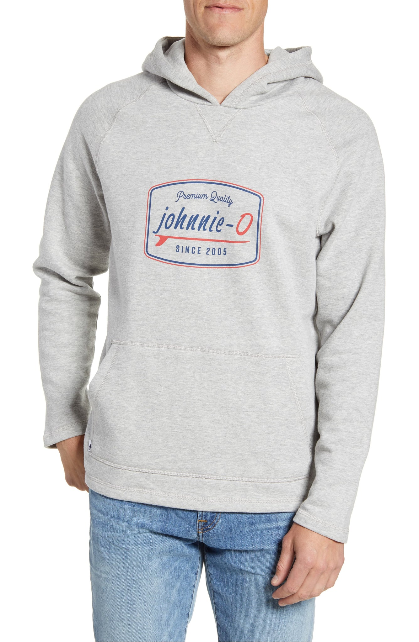 Men's Moore Graphic Hood - Light Grey