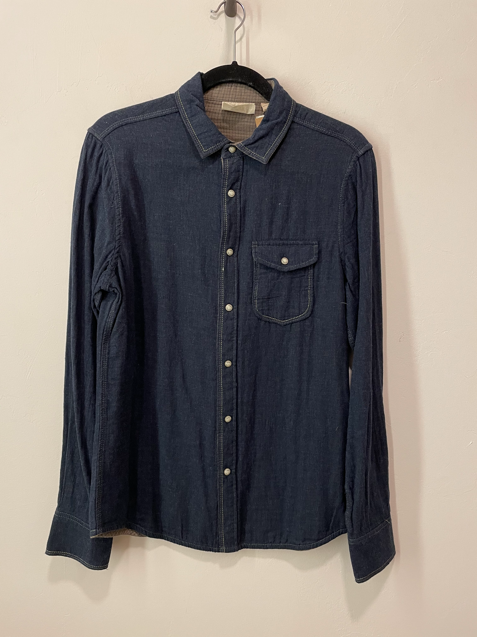 Chase Melange Double Layer Shirt