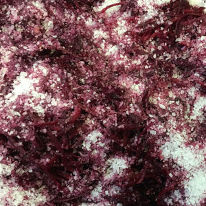 Ginger Beet Sauerkraut Ingredients