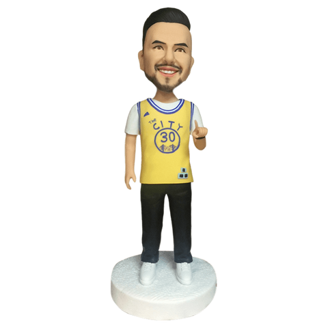 1 Person Fully Customizable Bobblehead | Customtobox