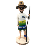 Fishing man Custom Bobblehead | Customtobox