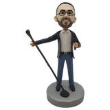 Singing Man Custom  Bobblehead | Customtobox