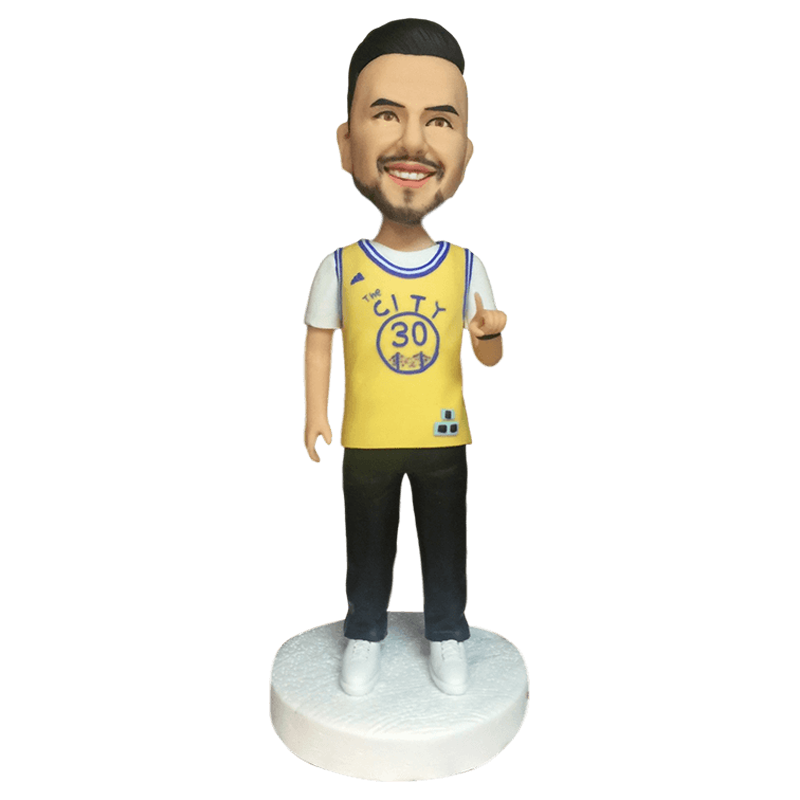Wear No.30 Jersey Custom Bobblehead | Customtobox
