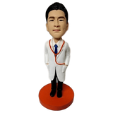 Male Doctor With Stethoscope  Bobblehead | Customtobox