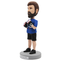 Boxing Enthusiast Custom Bobblehead | Customtobox