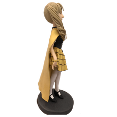 Girl In Yellow Skirt  Bobblehead | Customtobox