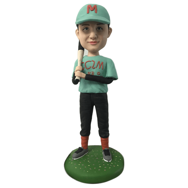 Baseball Player Custom Bobblehead | Customtobox