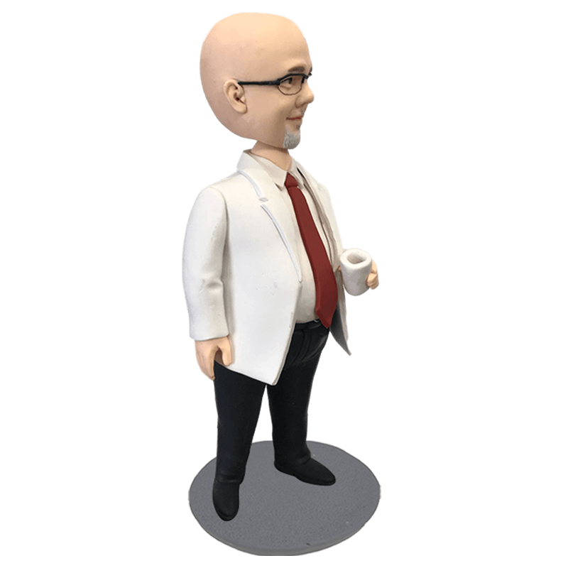 Hospital Dean Bobblehead | Customtobox