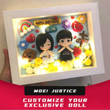 Custom Three-dimensional Photo Frame Figurine | Customtobox