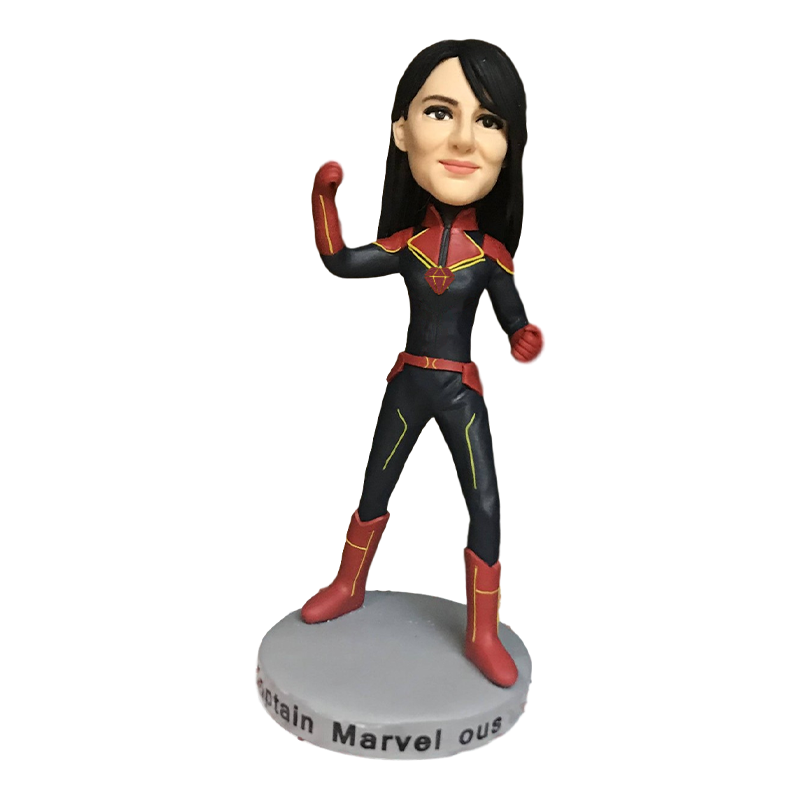 Cool Captain Bobblehead | Customtobox
