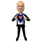 Superman Transfiguration Bobbleheads | Customtobox