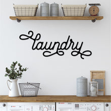 Load image into Gallery viewer, Laundry Sign | Metal Wall Decor