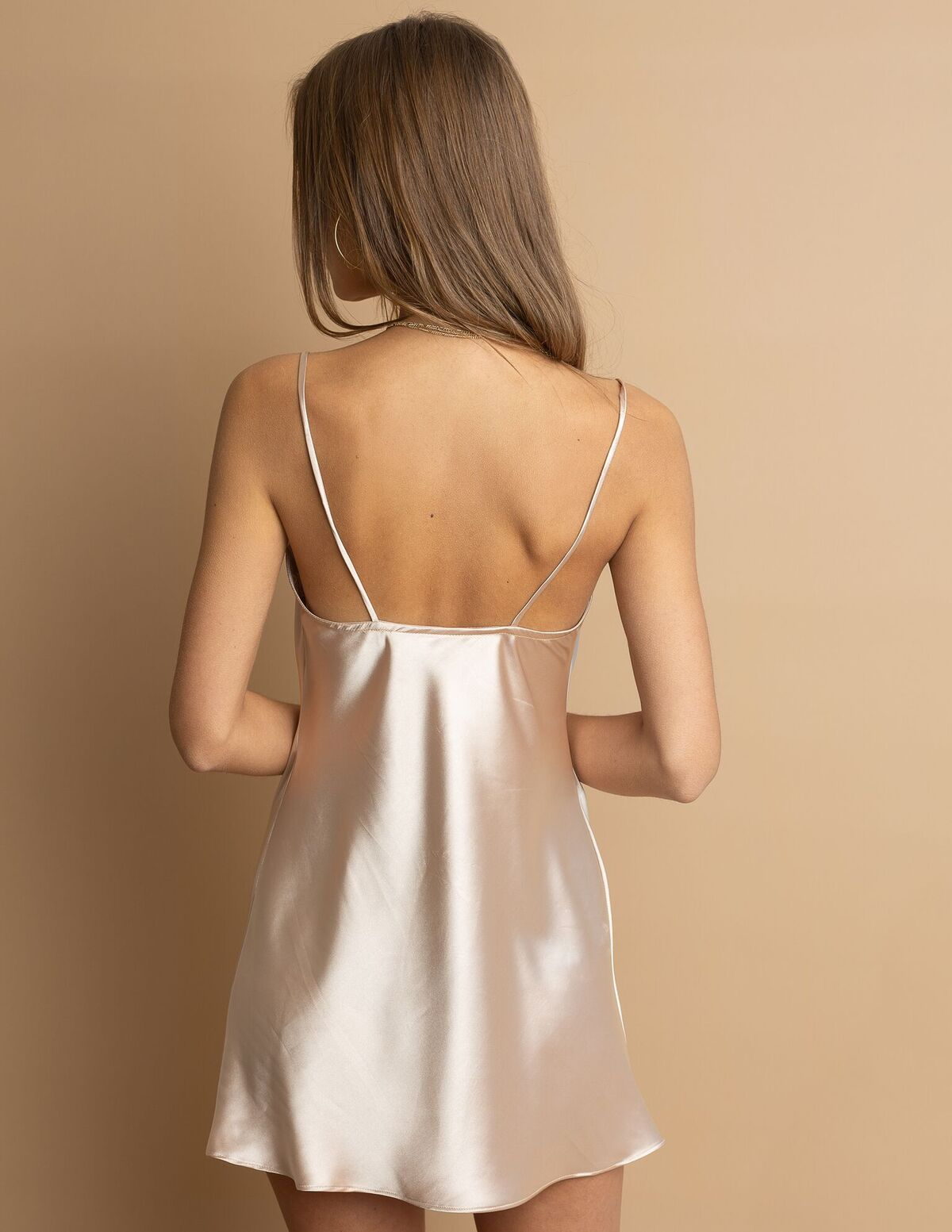 The Kelly Mini Slip Dress