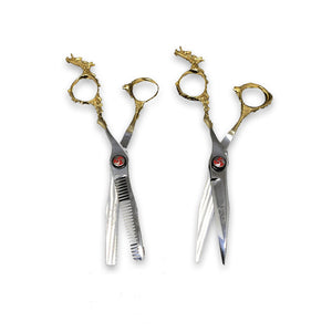 Dragon Stainless Steel & Gold Scissors