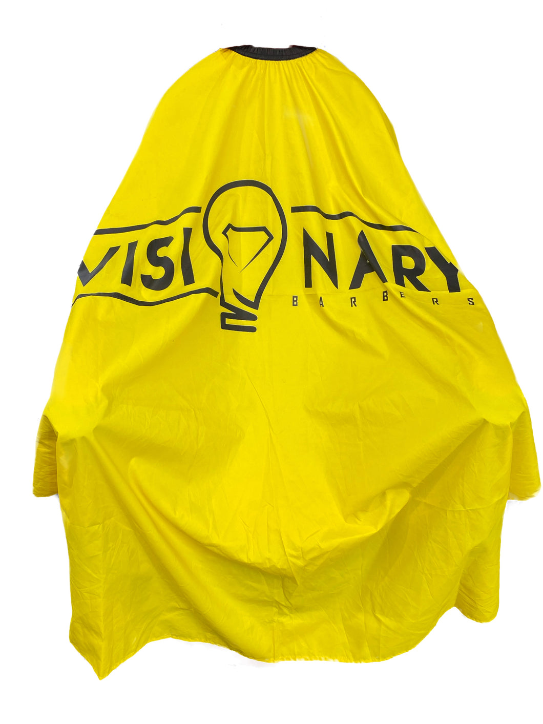 Vivid Yellow Professional Barber Stylist Cape!