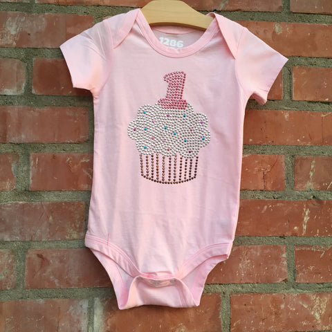 Cupcake Sparkle #1 One Piece