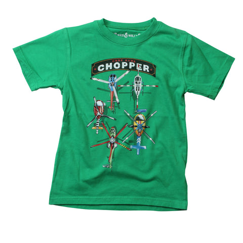 Choppers Green T-Shirt