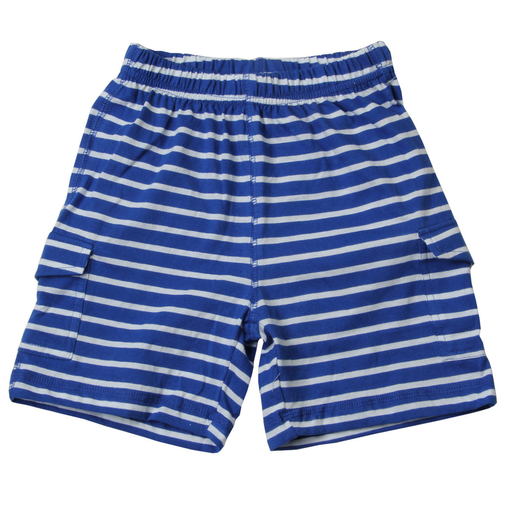 Striped Cargo Knit Short