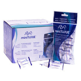 miniTissue Cotton Wipes 8 count