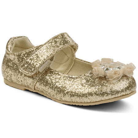 Pediped Flex Dalaney Gold Mary Jane