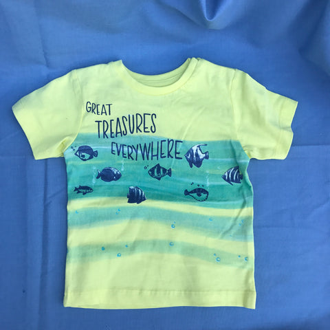 Great Treasures Everywhere T-Shirt size 12M