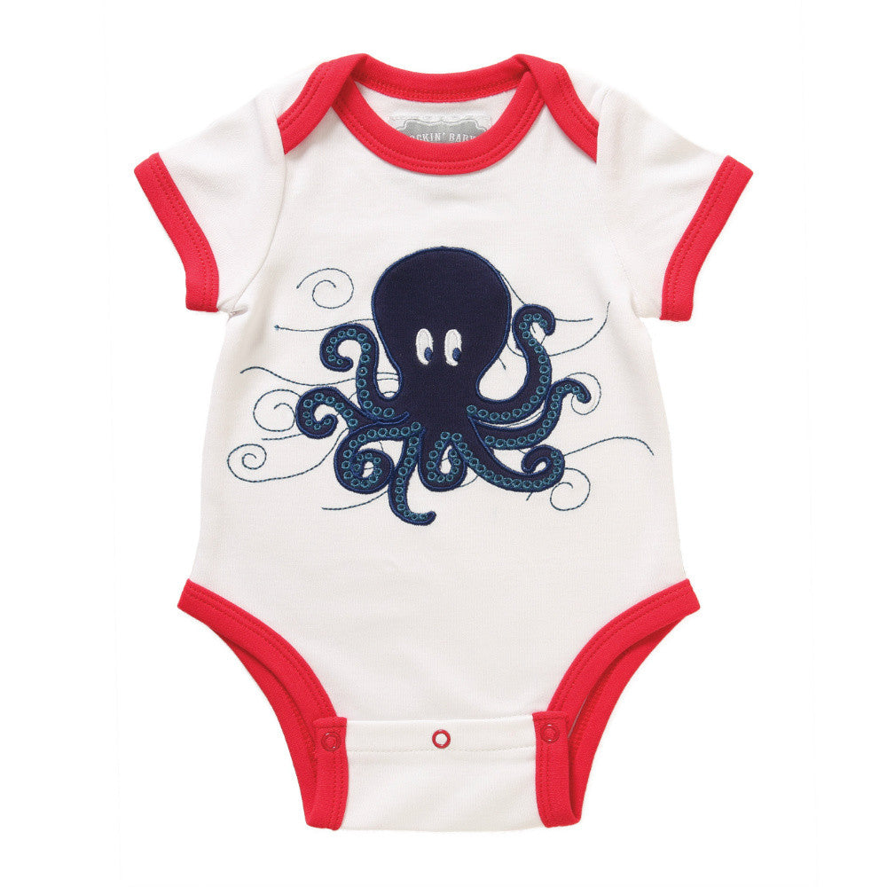 Octopus Applique Bodysuit