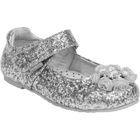 Pediped Delaney Silver Mary Jane