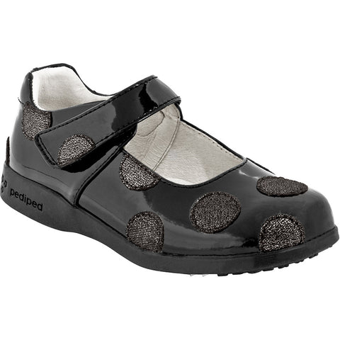 Pediped Giselle Black Patent Mary Jane