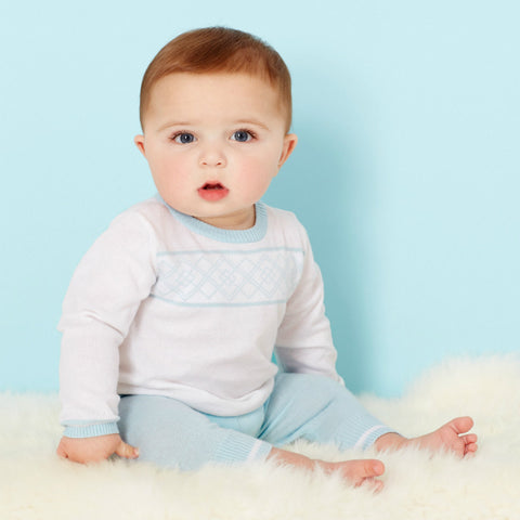 Treasured Baby Sweater and Pant Set