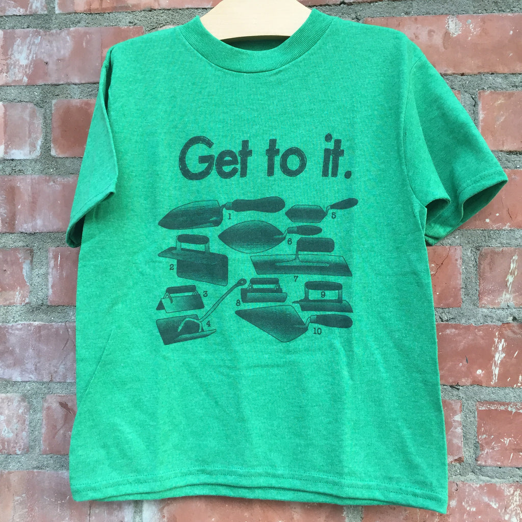 Get to It Green Tee