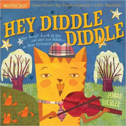 Hey Diddle Diddle Indestructibles Baby Book