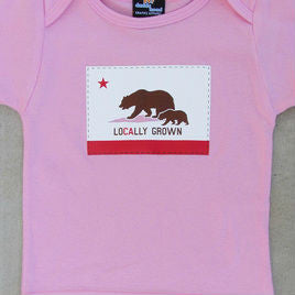 Locally Grown Pink Tee