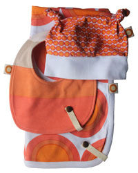 Freckle Baby Orange Gift Set
