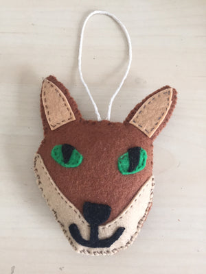 Friendly Fox - Door handle hanger