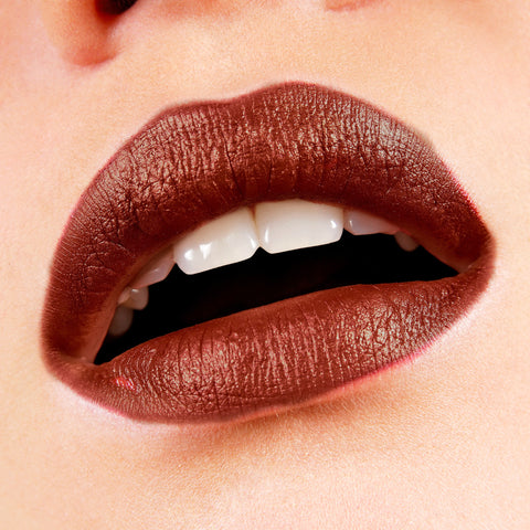 Chocolate Brown 33 Velvet Finish Liquid Lipstick