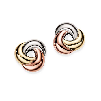 0b54f0f74 9CT Three Tone Knot Earrings CH13031 | Joyce Jewellery for jewellery and  watch brands, Georgini, Thomas Sabo, Agatha Paris, Citizen, Louis Erard, ...