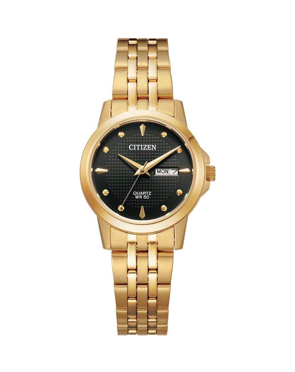 Citizen Quartz Gold Tone Ladies Watch EQ0603-59F