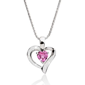 Silver created pink sapphire and diamond heart pendant joyce silver created pink sapphire and diamond heart pendant joyce jewellery for jewellery and watch brands georgini thomas sabo agatha paris citizen aloadofball Image collections