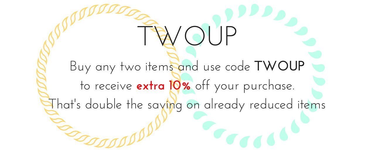 TWO UP Discount