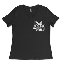 Load image into Gallery viewer, Ladies V-Neck T-Shirt