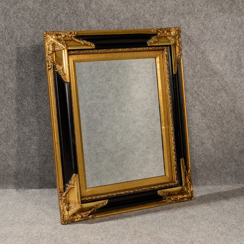 Bevelled Quality Antique Style Wall Mirror Overmantle Gilt Ornate Frame 20th C