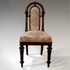 Antique Fine Walnut Side Desk Hall Chair English Quality William IV c1835