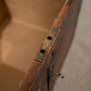 Antique English Oak Silver Chest Shipping Storage Trunk - Lambert London c1830