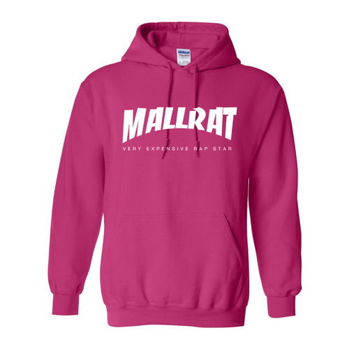 Mallrat Hoodie - Pink with Original Logo