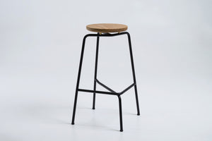Legless Bar Stool - Steel