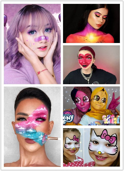 Face Paint makeup Recommendations